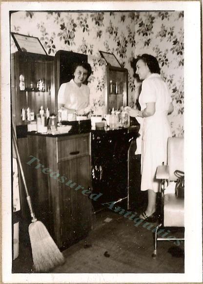 1940's beauty salon pictures -