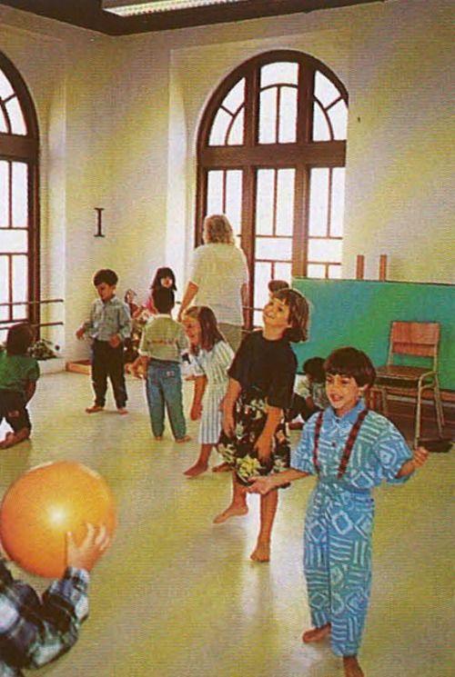 First day in school at CLIP Colegio Luso Internacional do Porto.