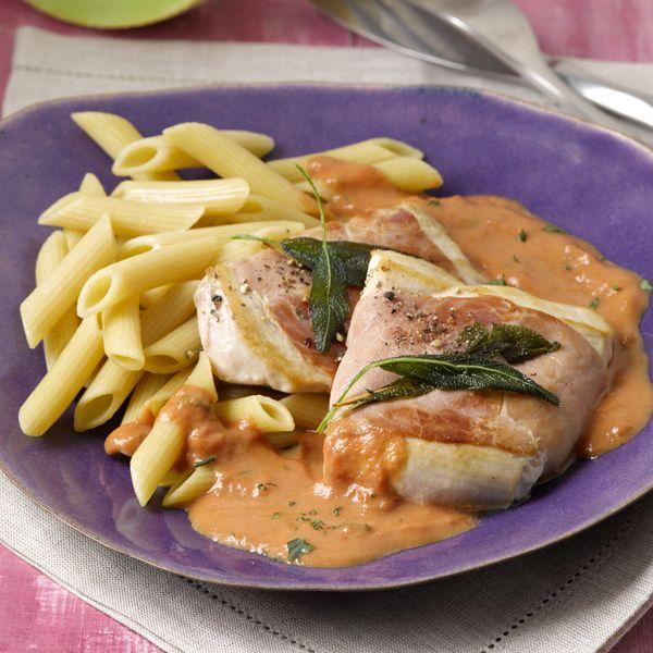 Saltimbocca met kip en salie . Dacht je dat dit niet kon tijdens de #PowerStart? ;-) #WeightWatchers #WWrecept