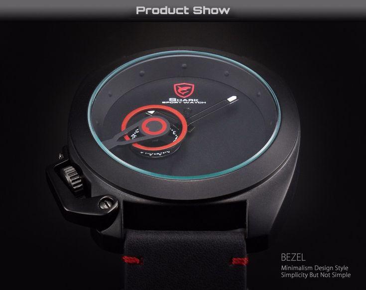 Tawny SHARK Sport Watch Series Model SH446 Waterproof Quartz Men's Watches - free shipping worldwide