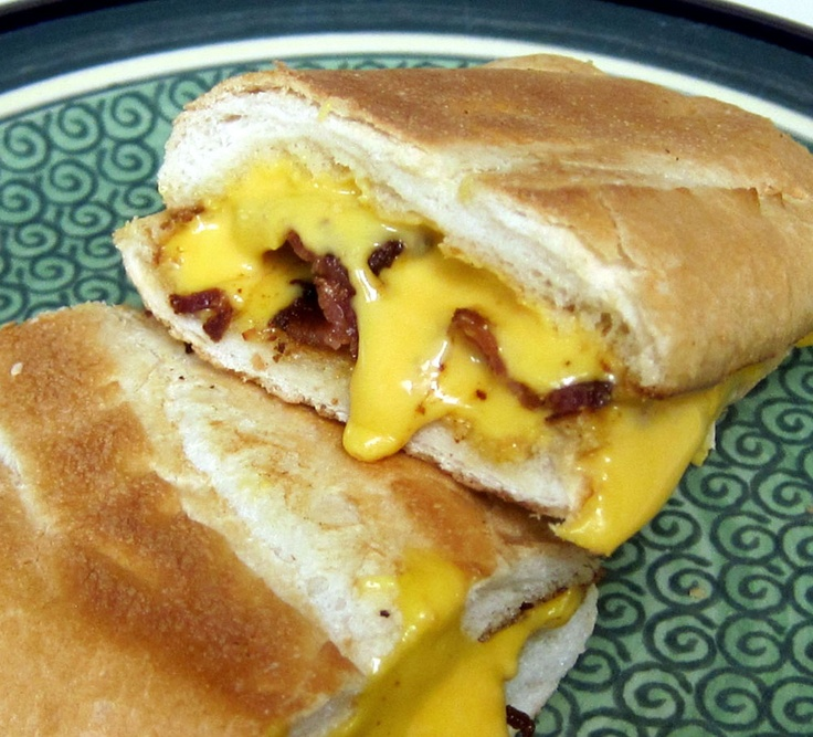 Bacon and Cheese Panini | Food Photos | Pinterest