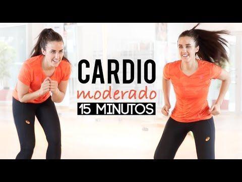 Cardio moderado | 15 minutos - YouTube