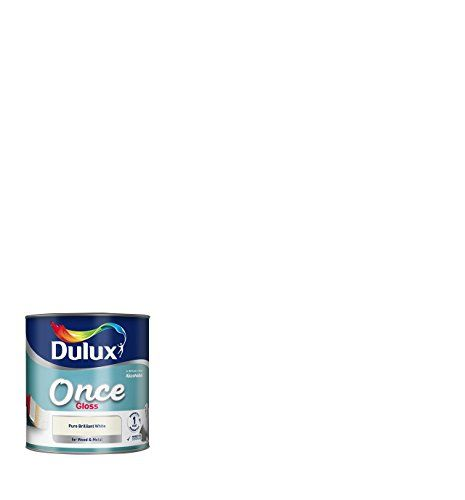 Dulux Once Gloss Paint 2.5 L - Pure Brilliant White
