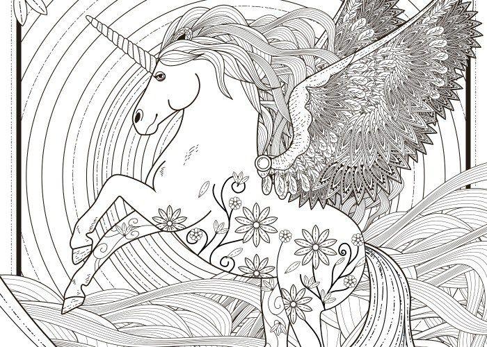 13 best Coloring - Unicorns/Horses/Etc. images on Pinterest ...