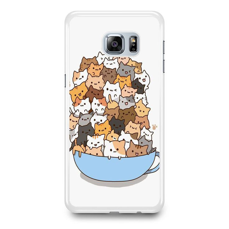 Because Cats on Bowl Samsung Galaxy S6 Edge Plus Case