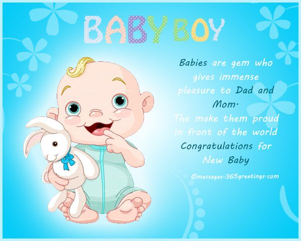 New Born Baby Wishes and Newborn Baby Congratulation Messages ...