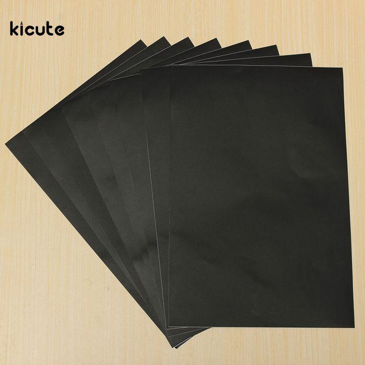 8 pcs Multifonction Tableau Blackboard Autocollant Amovible Tirage Effaçable Tableau Noir À la Craie pour Avis D'apprentissage 30*20 cm