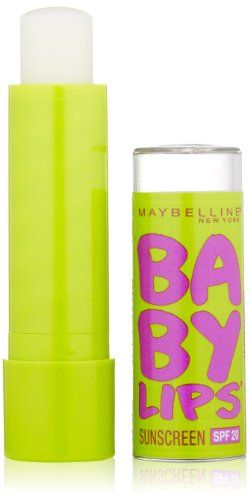MAYBELLINE Baby Lips Moisturizing Lip Balm - Peppermint - http://besteckkaufen.com/maybelline-new-york/maybelline-baby-lips-moisturizing-lip-balm