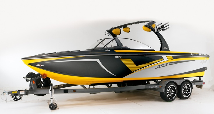 The 2013 Tige Z3 WakeWorld.com and Wake9.com The patented Convex V Hull creates the best wake surf and wakeboard wake in the industry.  tige.com