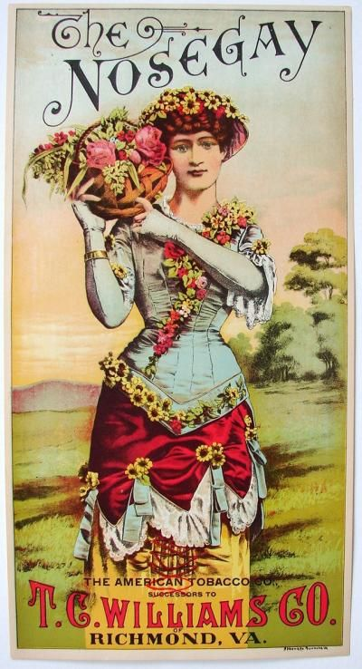 vintage cigar label