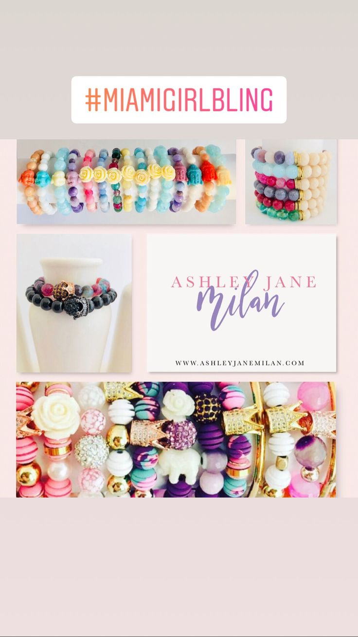 Designed & Handmade By Ashley Jane Milan, these pieces are unique and one of a kind beaded bracelets you won't find anywhere else.  www.AshleyJaneMilan.com #AshleyJaneMilan #beadedbracelets