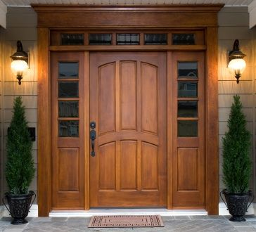 front door pictures ideas | Modern Front Door Decor on Choice Of Materials For Front Door Designs