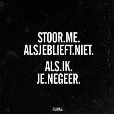 #Negeren #rumag
