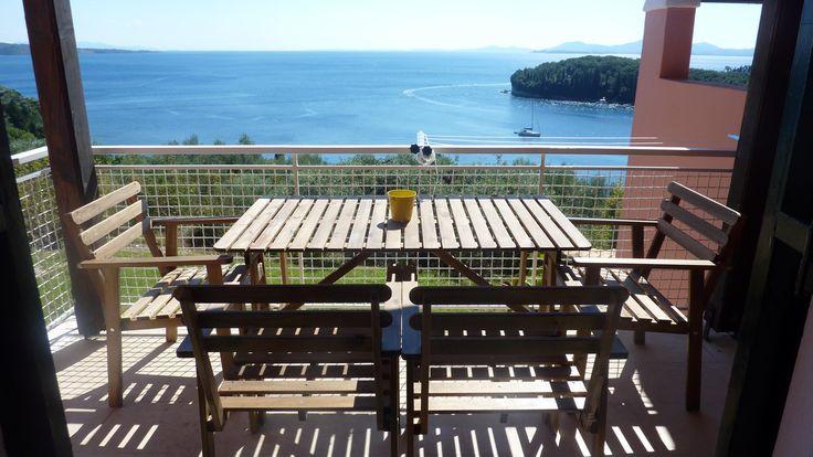 Family Apartment - Upper floor - Sea view veranda