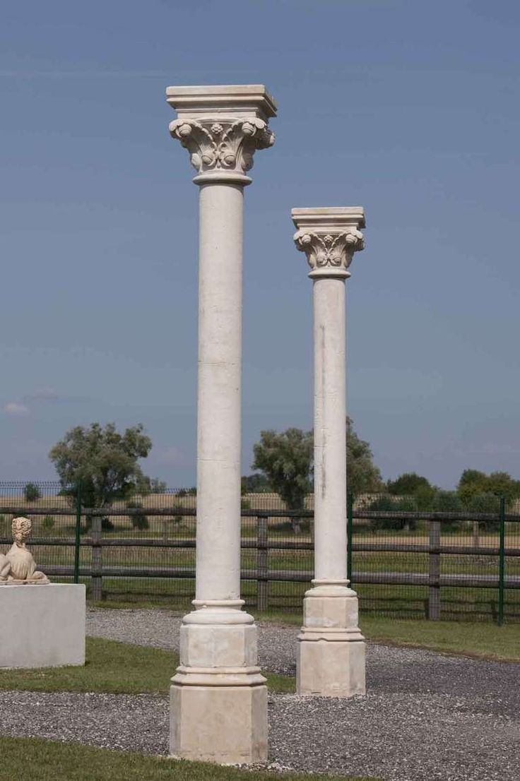 Residential Stone Columns : Ideas about stone columns on pinterest front porch