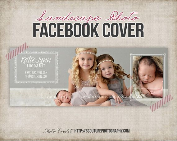 Facebook Cover Photo Template  Photography by StudioTwentyNine