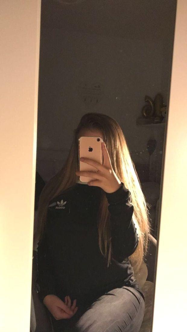 blonde teen girl selfie tumblr