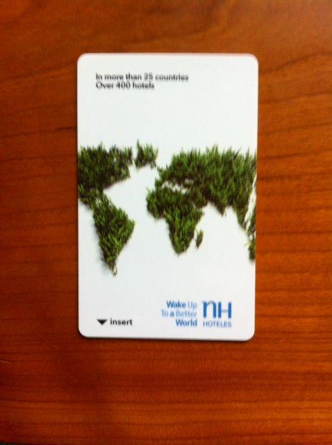 De la forma más sencilla, con una llave de hotel, se puede fomentar la sostenibilidad