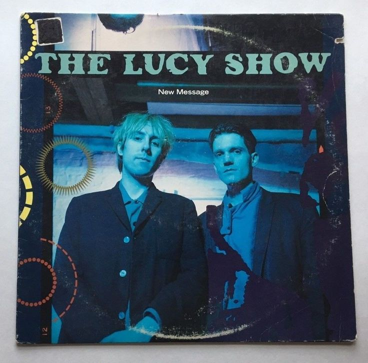 THE LUCY SHOW NEW MESSAGE VINYL 1987 RCA RECORDS LP 6043-1-BD Synth-pop, Indie  #SynthPop