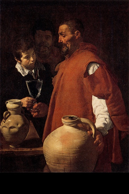 VELASQUEZ Diego - Spanish (Sevilla 1599 - 1660) - Water Carrier of Seville by Diego #Velasquez (1619)