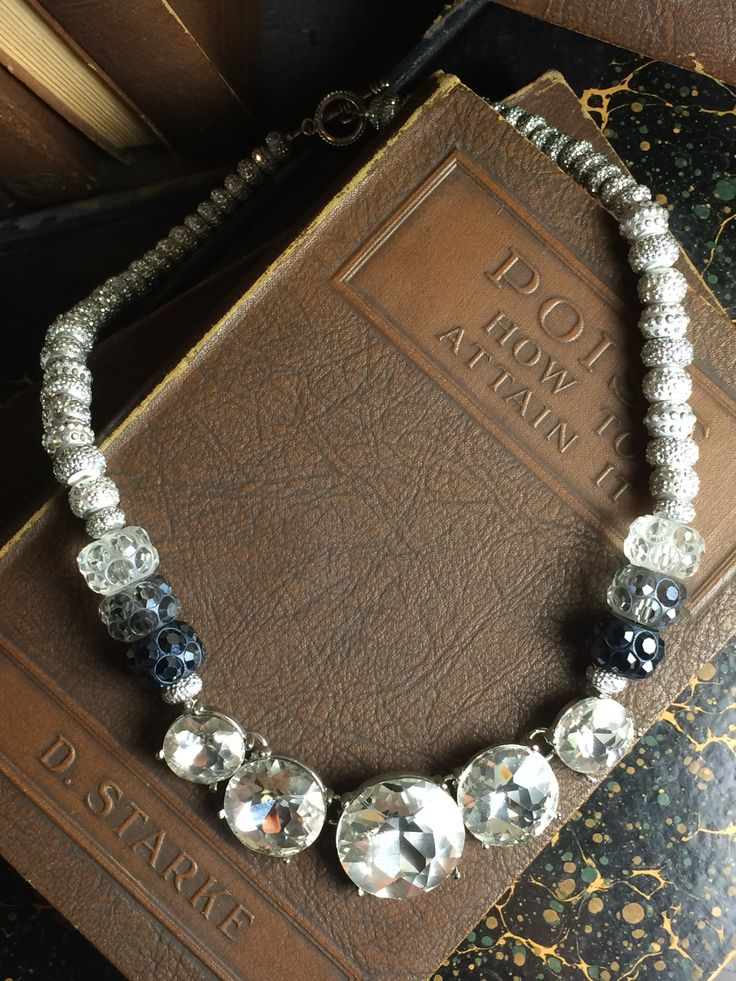 Blinded by the Light Necklace by @tesoritrovati featuring Bead Gallery beads available at @michaelsstores