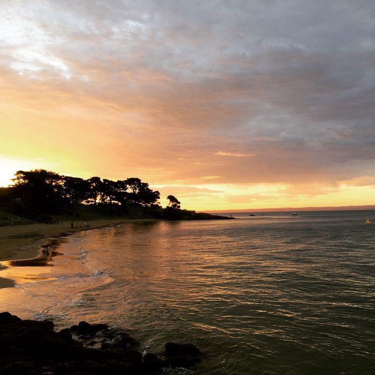 Phillip Island Australia: Cowes Pier Sunset Phillip Island Australia