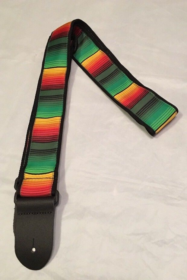 "Echosonic 2"" Guitar Strap, Checkerboard Pattern Design  in Camo Colors, ECHO-C06 #Echosonic"