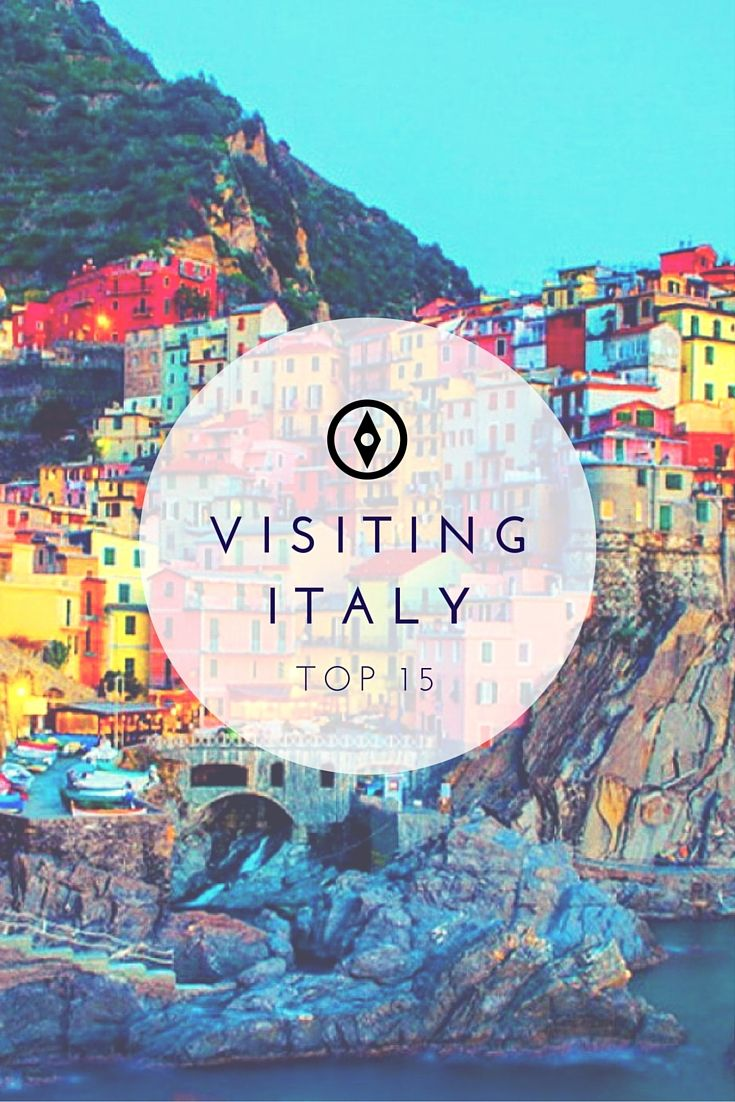 15 of the most breathtaking places to visit in Italy! All must-add's to any traveler's bucket list!