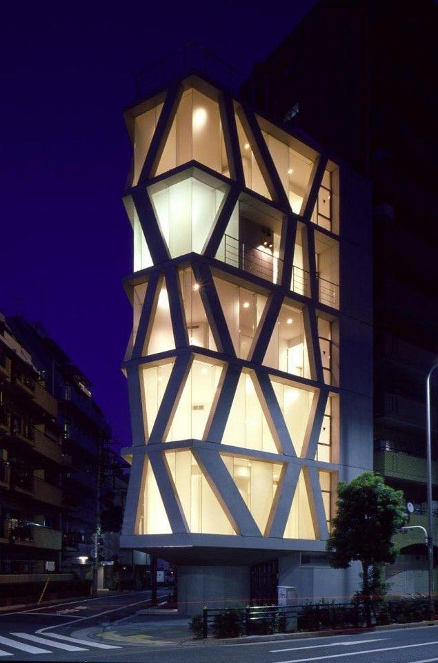 Towered Flats | Kita-ku, Tokyo, Japan | Milligram Architectural Studio