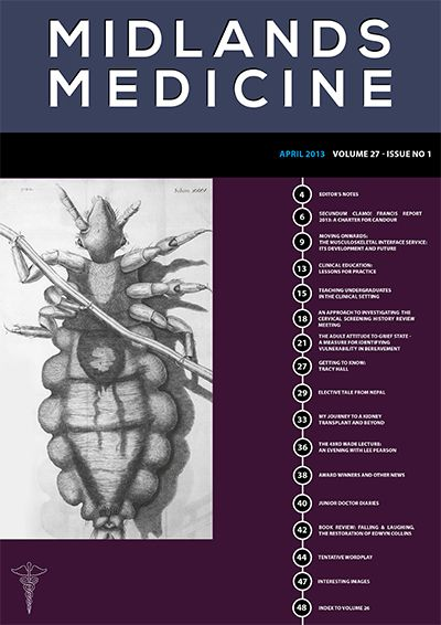 Midlands Medicine April 2013 Edition