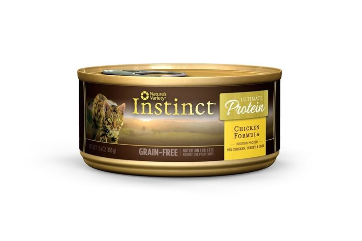 Nature's Variety Instinct Ultimate Protein Grain-Free Canned Cat Food, 3 oz Cans => Quickly view this special cat product, click the image : Best Cat Food