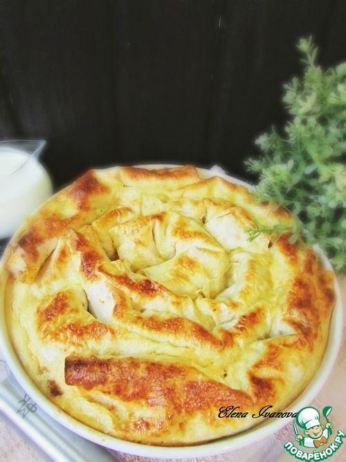 Закусочный лаваш с фасолью и курицей - кулинарный рецепт