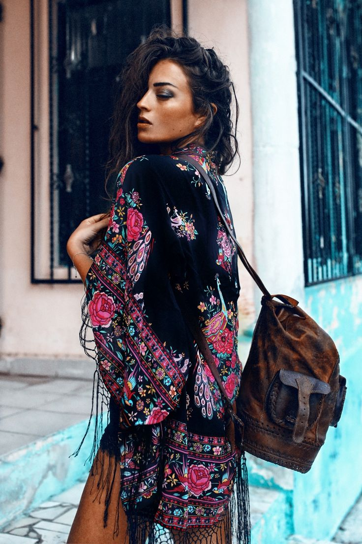 Kimono | Spell & the Gypsy Collective Bag | From a market in Tulum