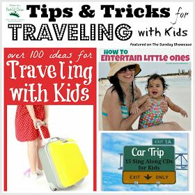 Mom to 2 Posh Lil Divas: Tips & Tricks for Traveling with Kids {The Sunday Showcase 6/22/13}