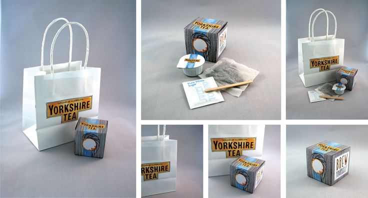 "YCN Brief-  Yorkshire Tea  A new take on the brand with the concept of ""Yorkshire Born and Brewed"" using well known Yorkshire born personalities.   Promotional Item concept of a ""Brew Yourself"" kit containing all you need to make one perfect cup of tea."