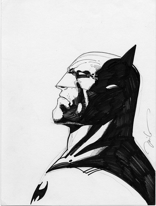 The gallery for --> Batman Sketches Jim Lee