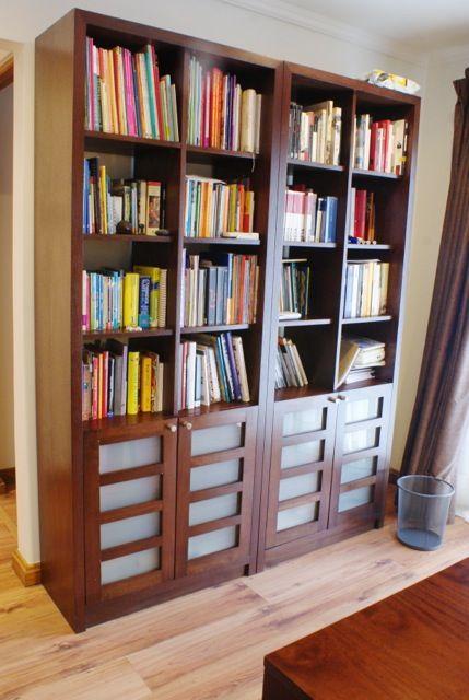 Mural biblioteca diseñado por www.cristianmontero.cl