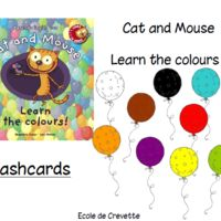 Cat and mouse - Learn the colours