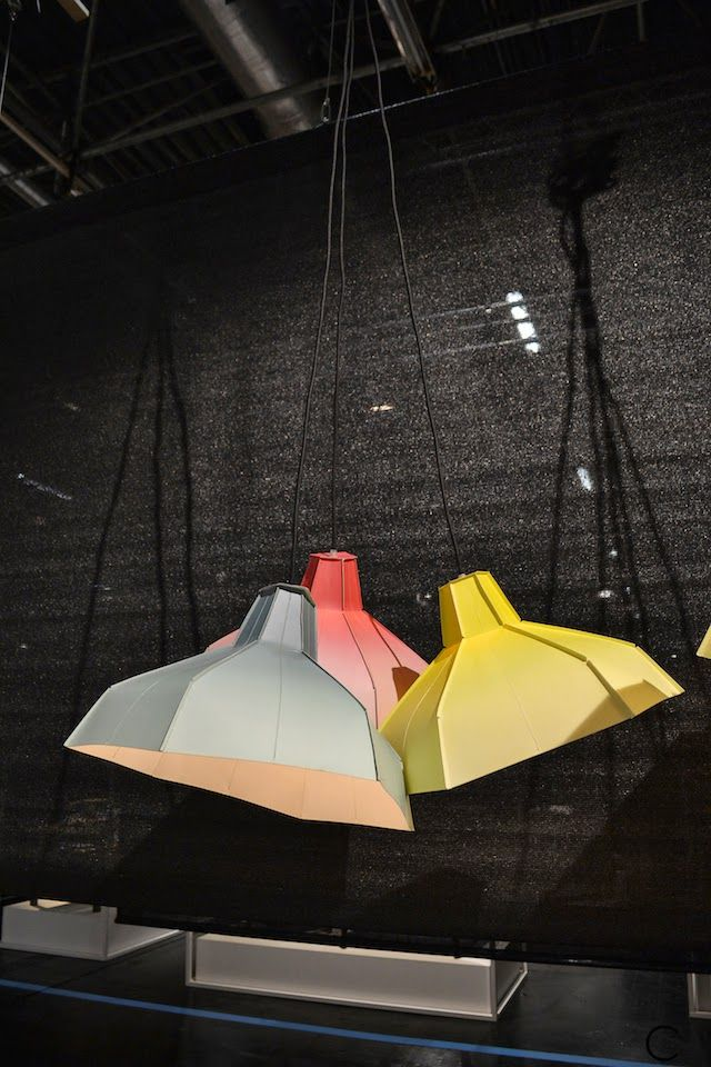 Lighting fixtures by Pepe Heykoop spotted by C-More interiorblog at IMM Cologne 2015 C-More |design + interieur + trends + prognose + concept + advies + ontwerp + cursus + workshops