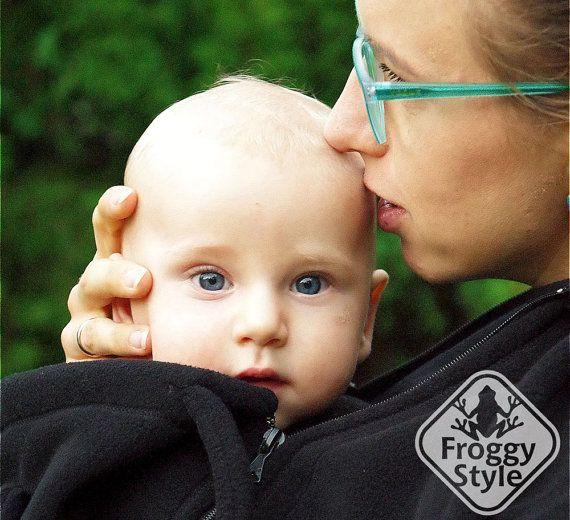 4-in-1 Fleece Babywearing Jacket from FROGGY by FroggyStylePL