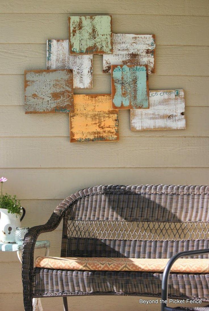 TUTORIAL: reclaimed wood art