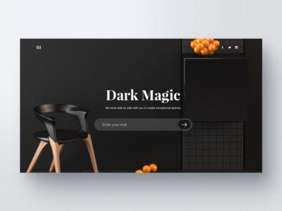 Dark Magic website
