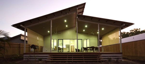 Skillion roof house google search solar passive homes for Skillion roof house plans