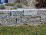 Muschelkalk System-Mauersteine getrommelt