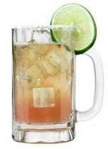 Kaepernick's Keg Cocktail ~ Superbowl libation!!