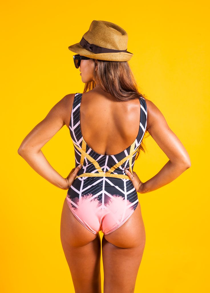 Stunning all-over print customised swimwear. Designed with a scoop neckline and low-cut scoop back. Individually printed, hand cut and sewn to order. 3-5 day UK delivery time. From £36 by actionzebra.