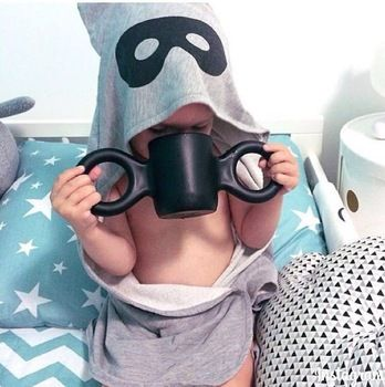 Big Ears Cup Children Baby Learn To Drink Cups Creative Fashion Mugs Milk Cup From Environmental Health