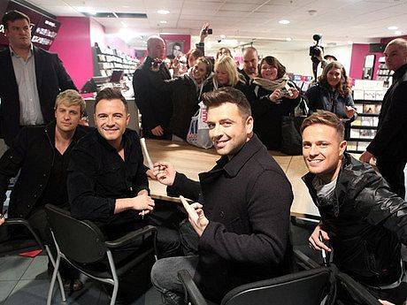 Westlife Greatest Hits CD signing