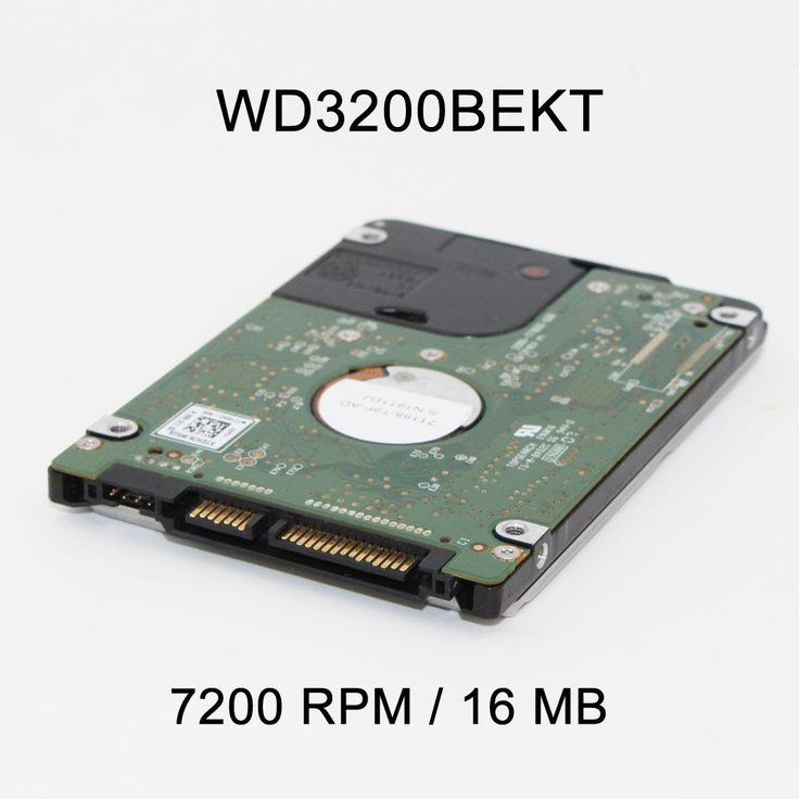 "New 2.5"" 320GB SATA 16MB 7200 RPM WD3200BEKT High Speed Hard Driver Disk For PS3 Laptop Notebook"