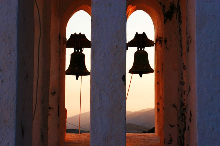 Travel Photography Greece, Church Bells